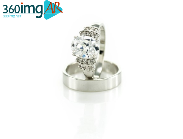 Silver Ring-Diamond